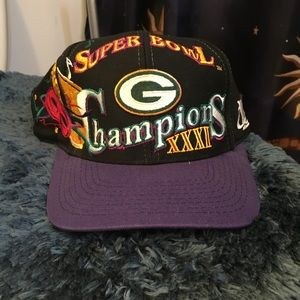 Logo Athletic Accessories - VINTAGE LOGO ATHLETIC GREEN BAY PACKERS SNAPBACK d49540a79